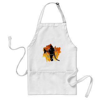 Firefighter IN Flames Standard Apron
