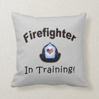 Firefighter In Training Cushion