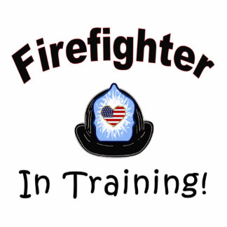 Firefighter In Training Photo Sculpture Decoration