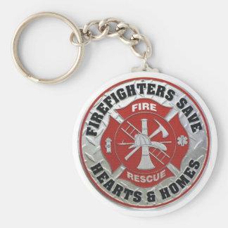 Firefighter key chain