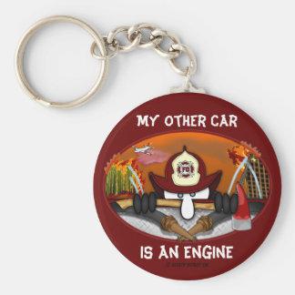 Firefighter Kilroy Keychain