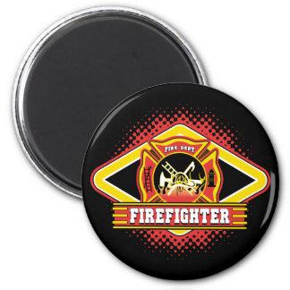Firefighter Logo Magnet