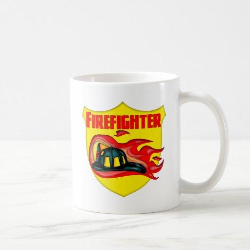 Firefighter Logo Coffee Mugs
