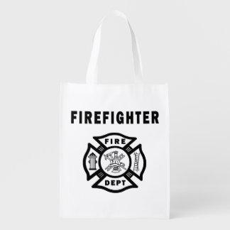Firefighter Logo Market Tote