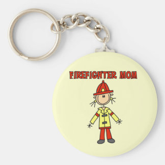 Firefighter Mom Tshirts and Gifts Key Ring