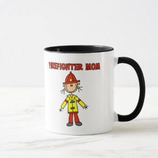 Firefighter Mom Tshirts and Gifts Mug