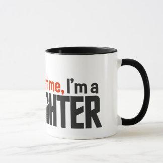 Firefighter mug - choose style & color