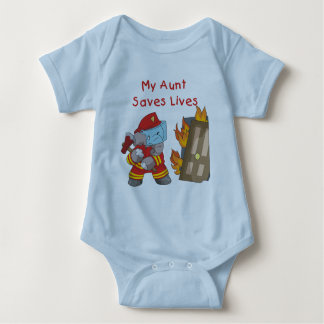 Firefighter  My Aunt Saves Lives Tshirts and Gifts