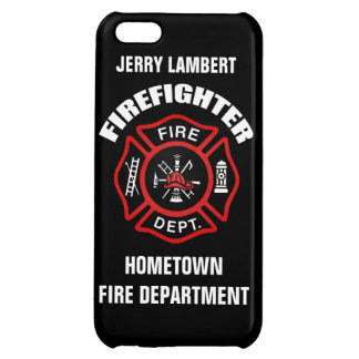 Firefighter Name Template iPhone 5C Case