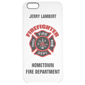 Firefighter Name Template iPhone 6 Plus Case