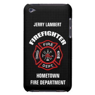Firefighter Name Template iPod Touch Case-Mate Case