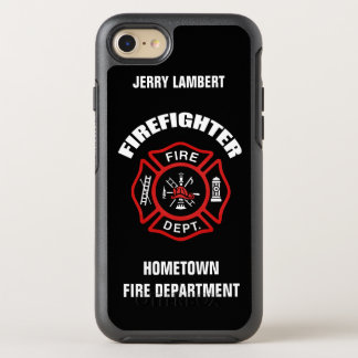 Firefighter Name Template OtterBox Symmetry iPhone 8/7 Case