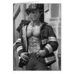Firefighter Notecard #5 Note Card