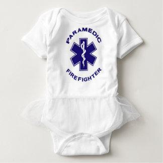 Firefighter Paramedic Baby Bodysuit