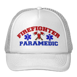 Firefighter Paramedic Cap