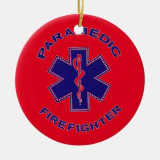 Firefighter Paramedic Christmas Ornament