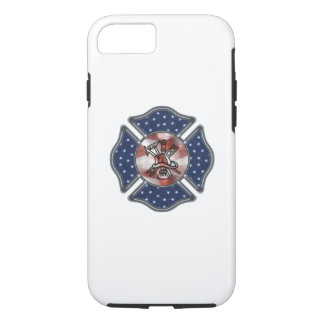 Firefighter Patriotic iPhone 7 Case