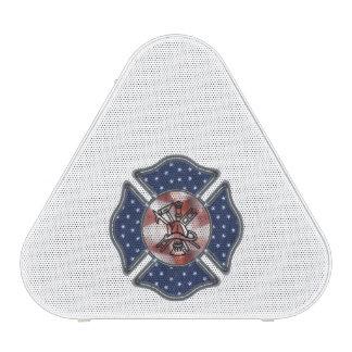 Firefighter Patriotic Logo