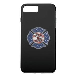 Firefighter Patriotic Logo iPhone 7 Plus Case