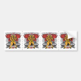 Firefighter Real Heroes Bumper Sticker