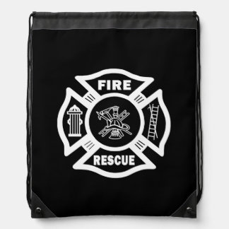 Firefighter Rescue Cinch Bag
