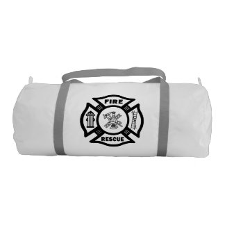Firefighter Rescue Gym Duffel Bag