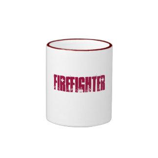 Firefighter-Ringer Mug
