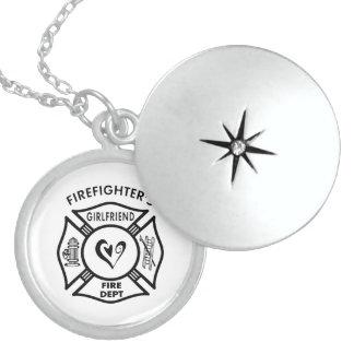 Firefighter s Girlfriend Pendants