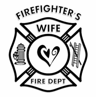 Firefighter s Wife Photo Sculpture