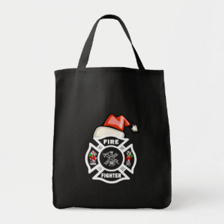 Firefighter Santa Claus Bags