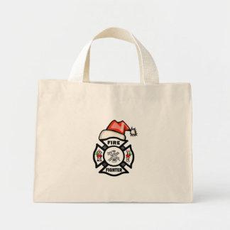 Firefighter Santa Claus Bag