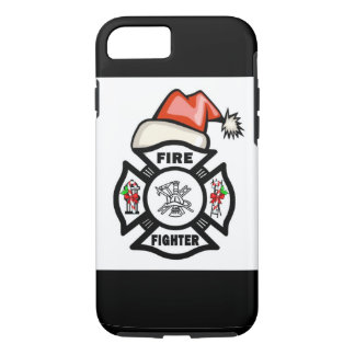Firefighter Santa Claus iPhone 8/7 Case