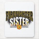 Firefighter Sister Mousemat