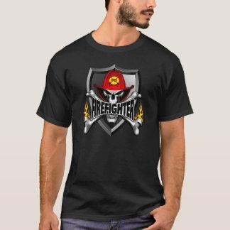 Firefighter Skull T-Shirt
