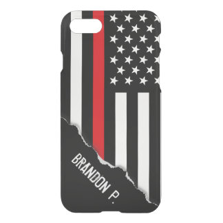 Firefighter Styled American Flag Custom iPhone 8/7 Case
