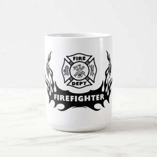 Firefighter Tattoo Coffee Mug