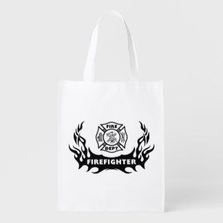 Firefighter Tattoo Market Totes