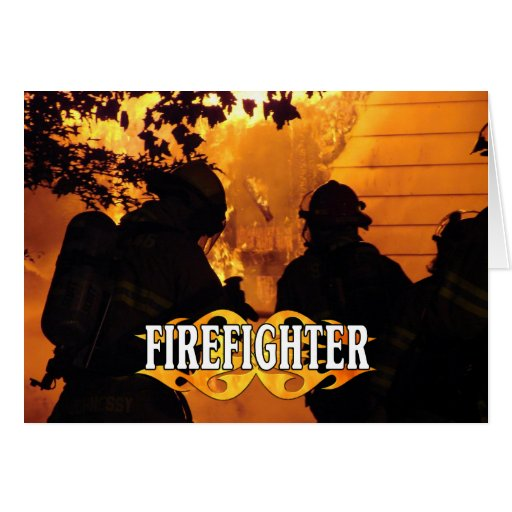 Firefighter Team Note Card