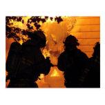 Firefighter Team Postcards
