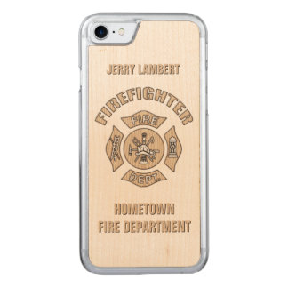 Firefighter Template Carved iPhone 8/7 Case