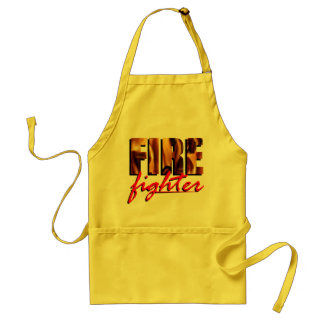 Firefighter themed apron