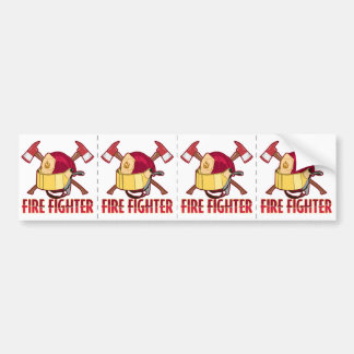 Firefighter Tribute Bumper Sticker