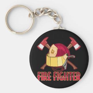 FireFighter Tribute Key Ring