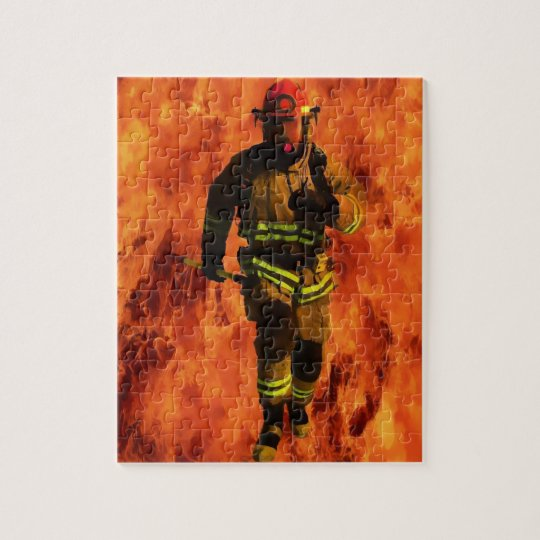 Firefighter VS Flames Puzzle