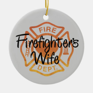 Firefighter Wife Christmas Ornament