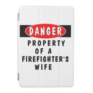 Firefighter Wife iPad Mini Cover