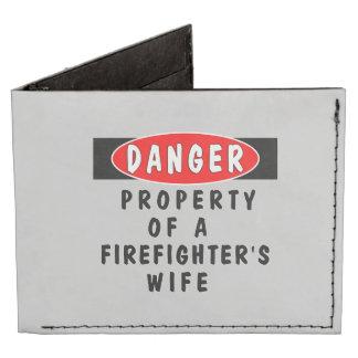 Firefighter Wife Tyvek® Billfold Wallet