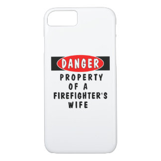 Firefighter Wife iPhone 7 Case