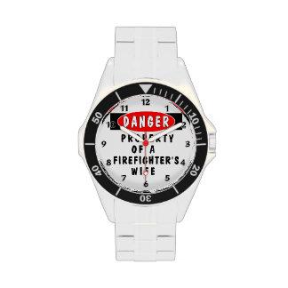 Firefighter Wife Wrist Watch