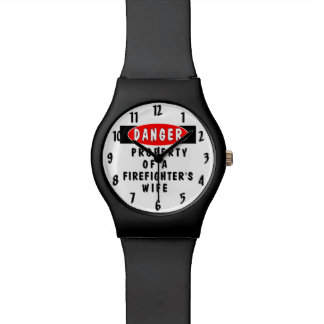 Firefighter Wife Wristwatches